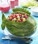 Watermelon-Pasteque-فن تناول البطيخ الأحمر 4